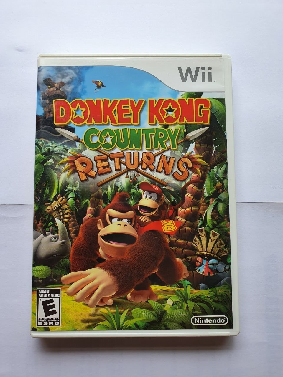 Donkey Kong: Country Returns - Usado - Wii