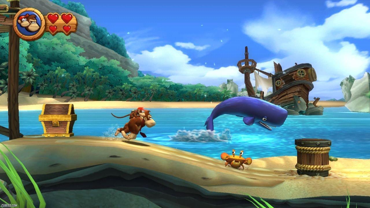Donkey Kong: Country Returns - Usado - Wii