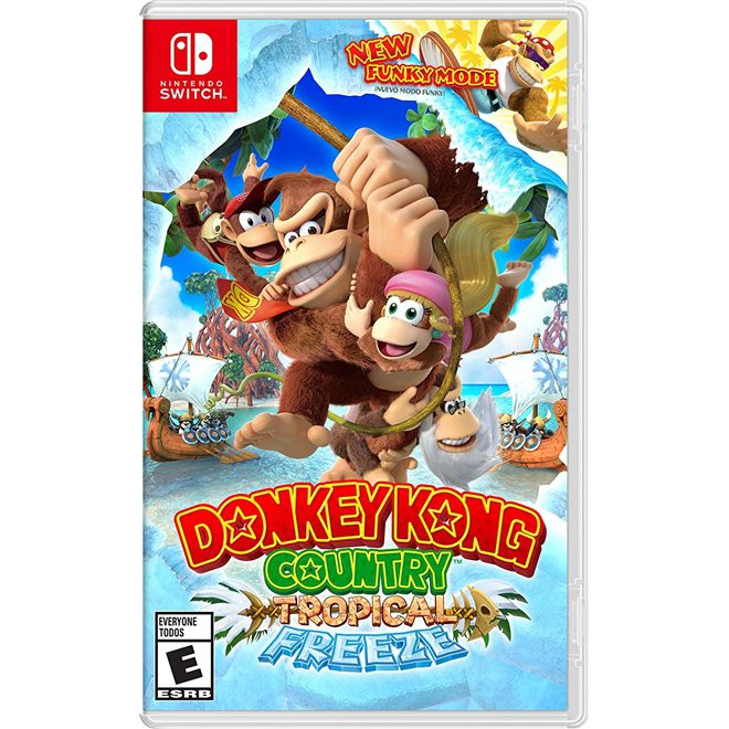 Donkey Kong Tropical Freeze - Nintendo Switch