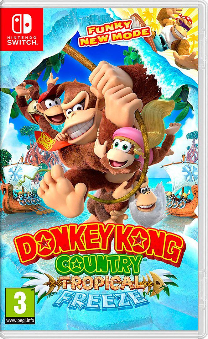 Donkey Kong Tropical Freeze EUR version- Nintendo Switch - ENVIO INTERNACIONAL