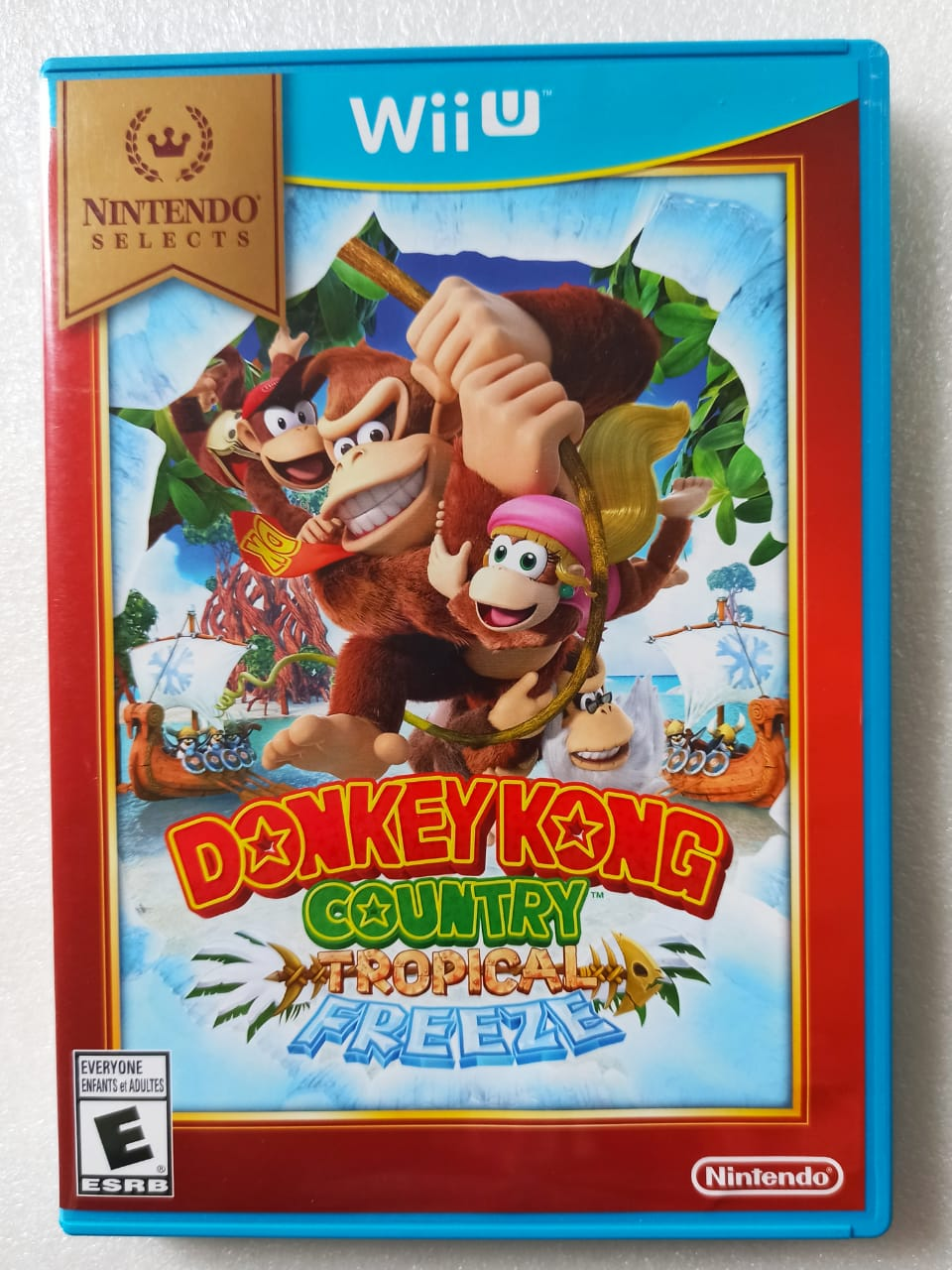Donkey Kong Tropical Freeze - USADO - Nintendo Wii U
