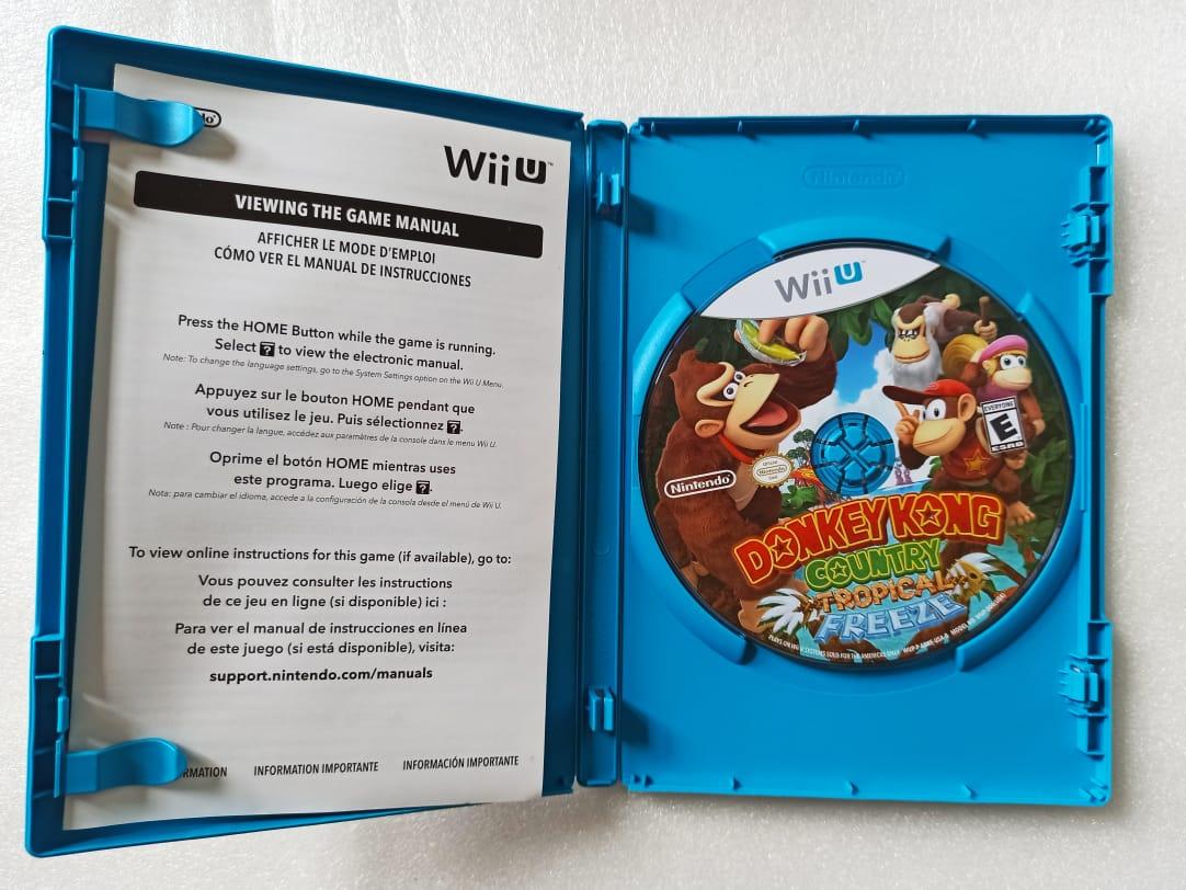 Donkey Kong Tropical Freeze - USADO - Nintendo Wii U