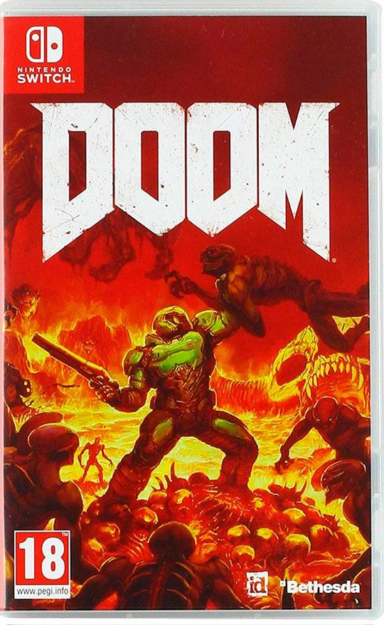 Doom (EUR) - Nintendo Switch - Envio Internacional