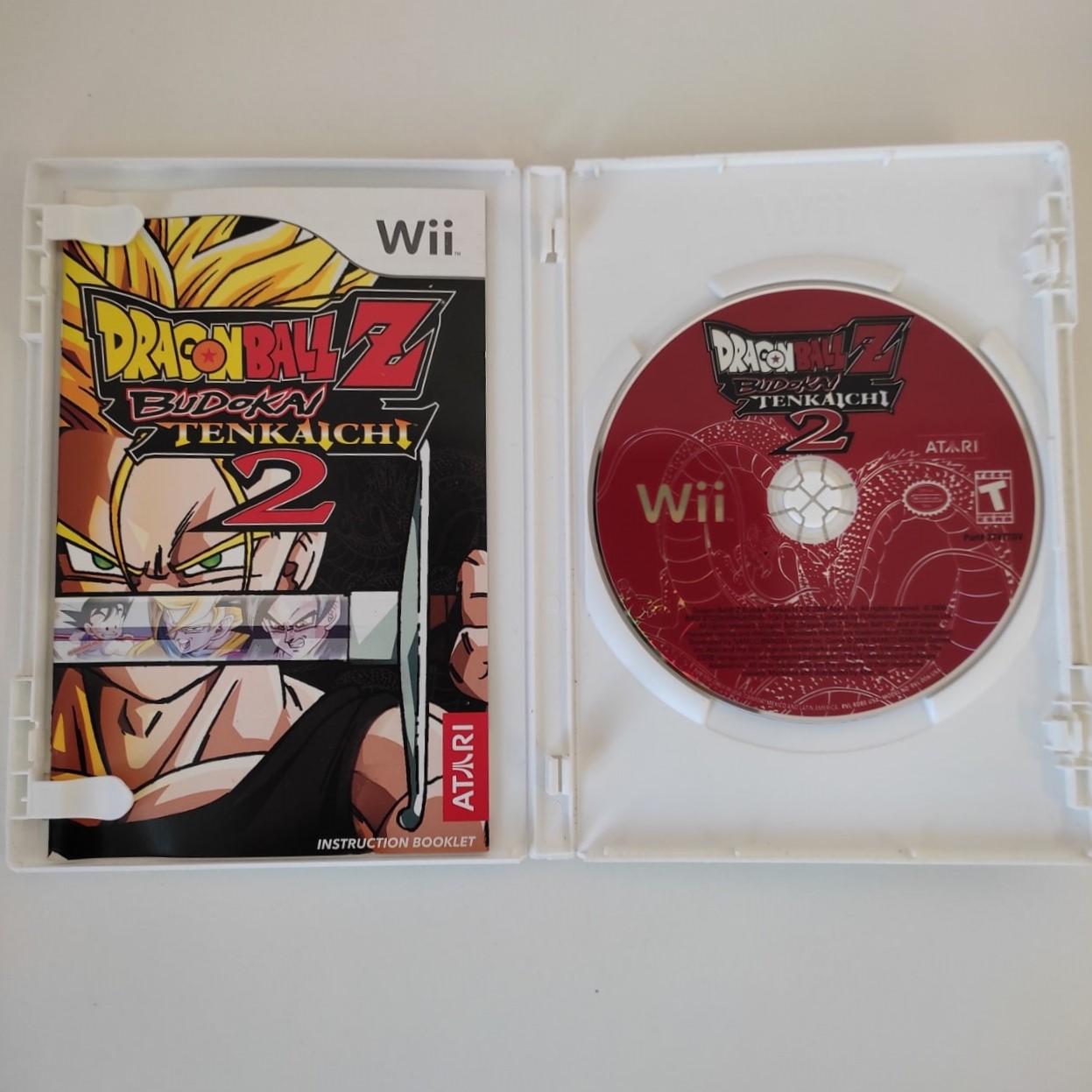 Dragon Ball Z Budokai Tenkaichi 2 - Nintendo Wii - Usado