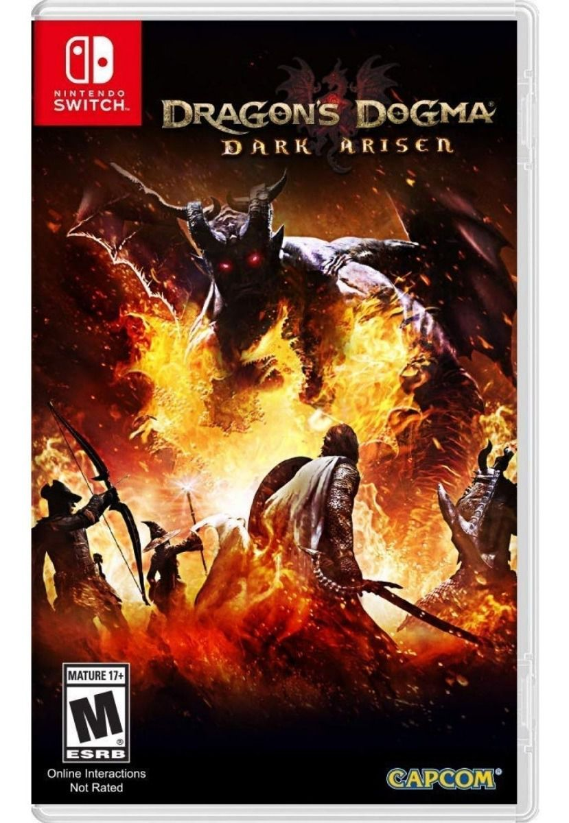 Dragon's Dogma: Dark Arisen (US) - Nintendo Switch - ENVIO INTERNACIONAL