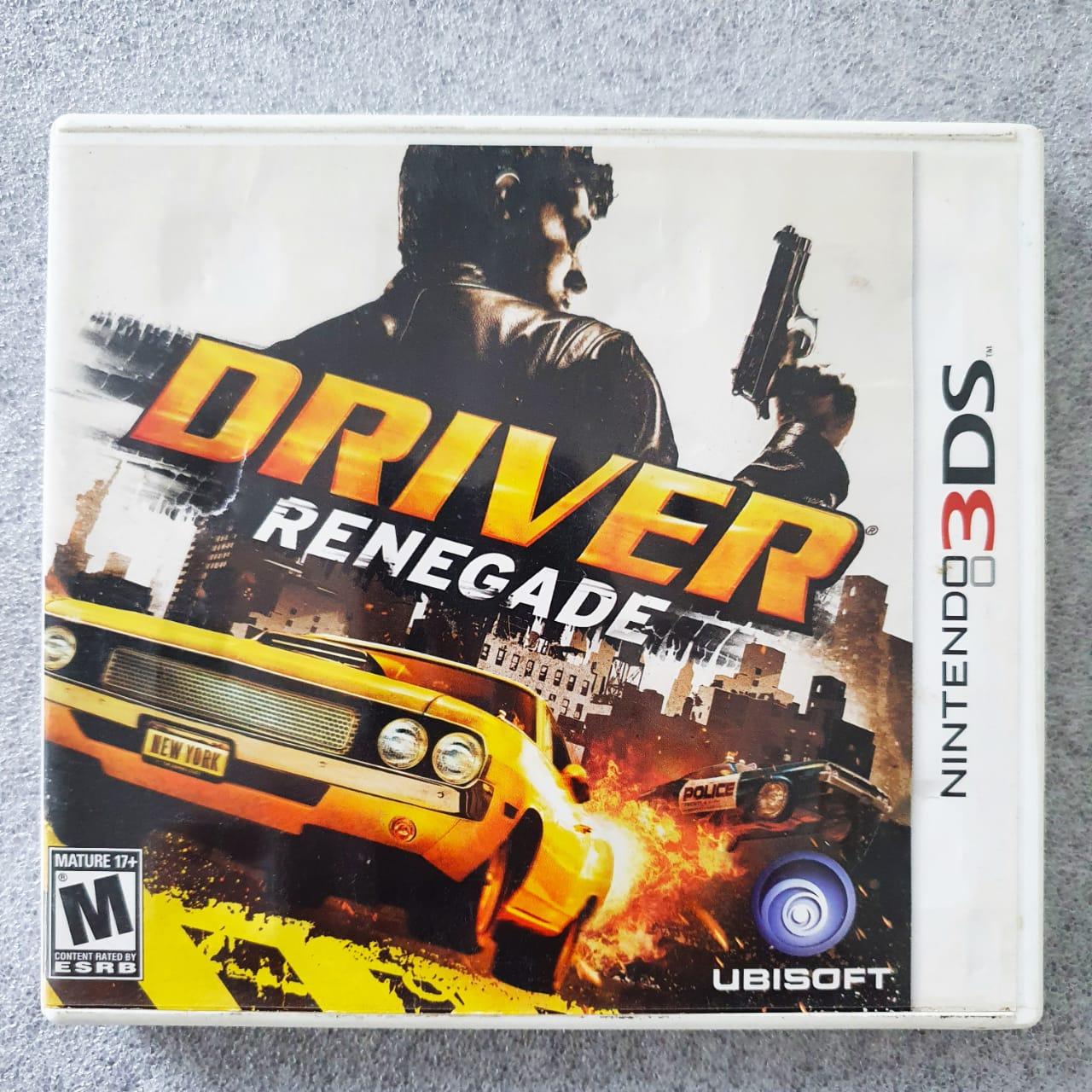Driver Renegade - USADO - Nintendo 3DS