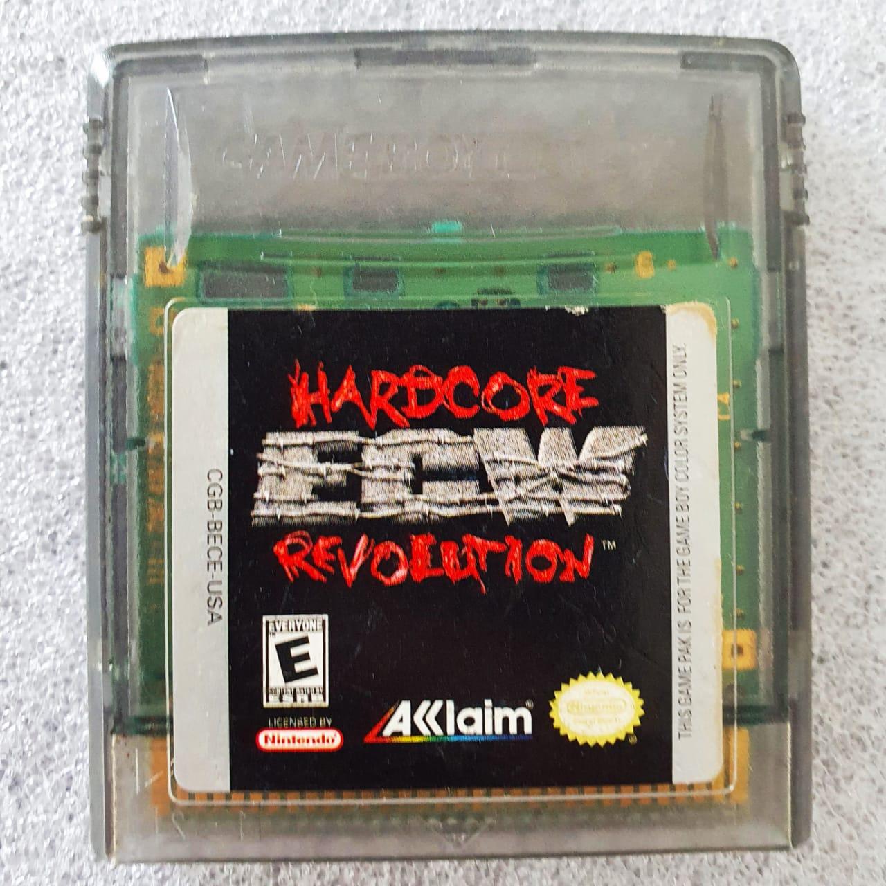 ECW Hardcore Revolution - USADO - GBC