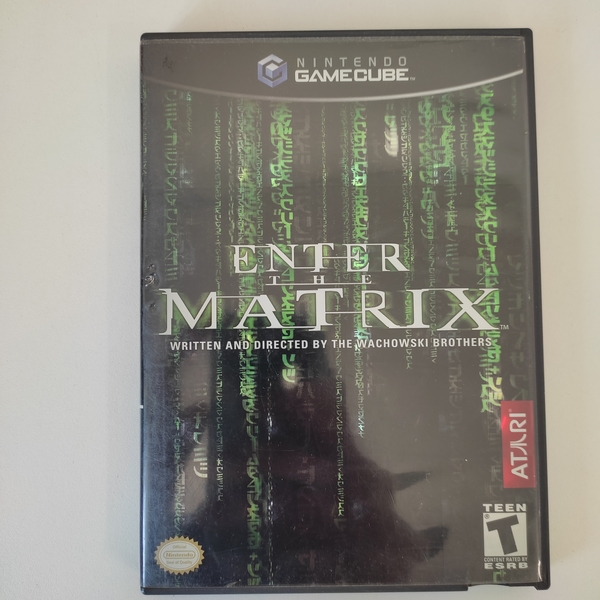 Enter the Matrix - Nintendo GameCube - Usado
