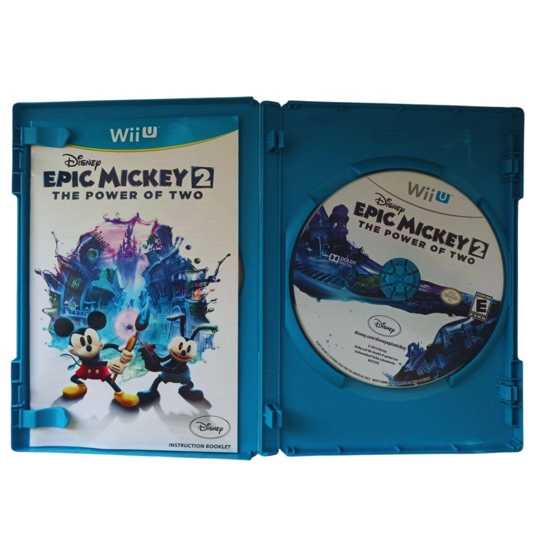Epic Mickey 2: The Power of Two - Nintendo Wii U - Usado