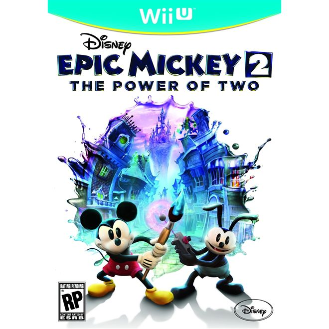Epic Mickey 2 - The Power of Two - Wii U - USADO
