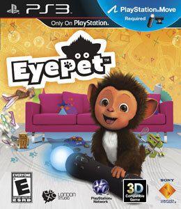 Eyepet Ps3 Original Lacrado Midia Fisica No Encarte