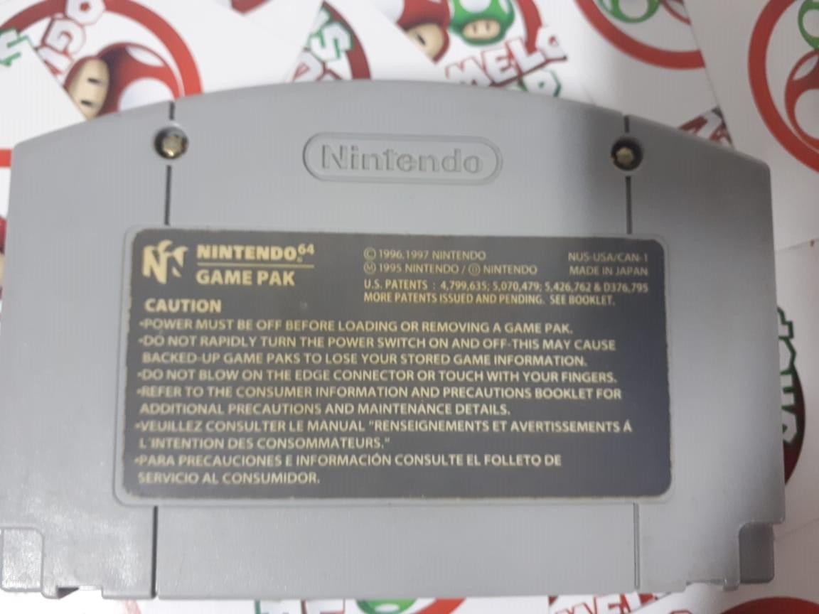 F-Zero X - USADO - Nintendo 64