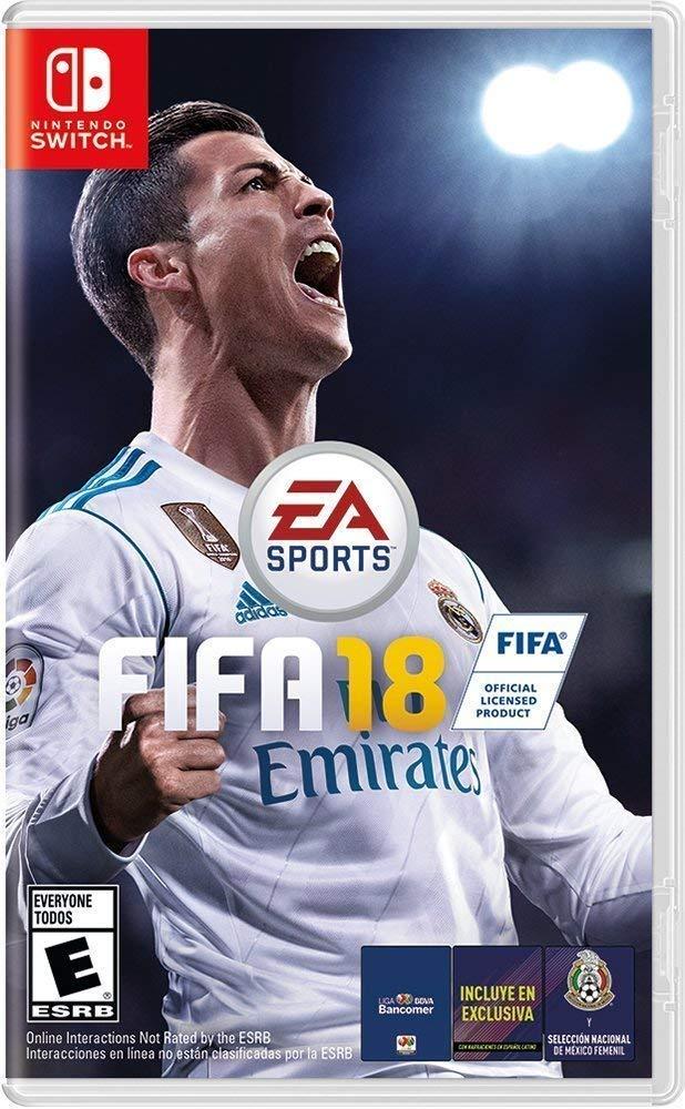 FIFA 18 - USADO - Nintendo Switch