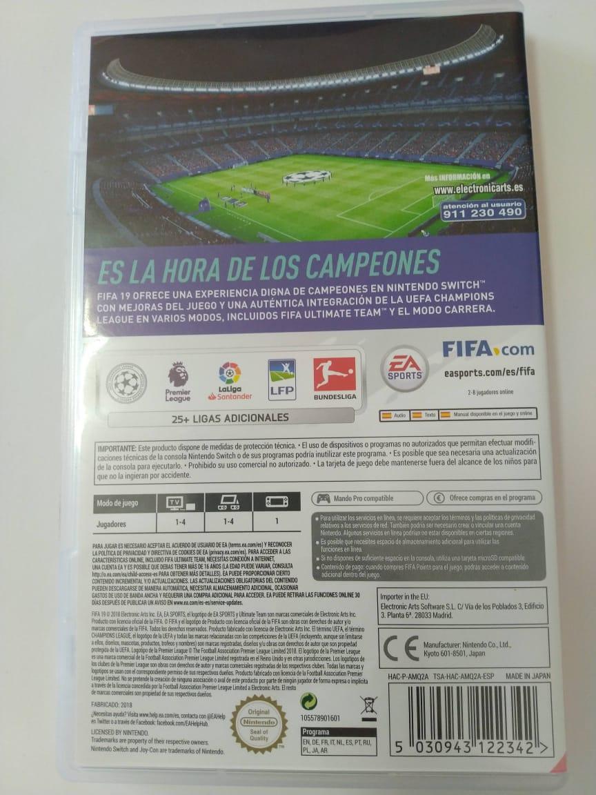 FIFA 19 (USADO) - Nintendo Switch