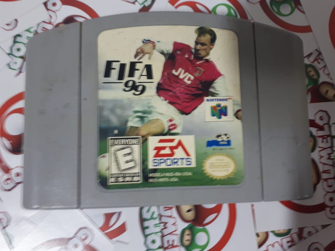 FIFA 99 - USADO - Nintendo 64