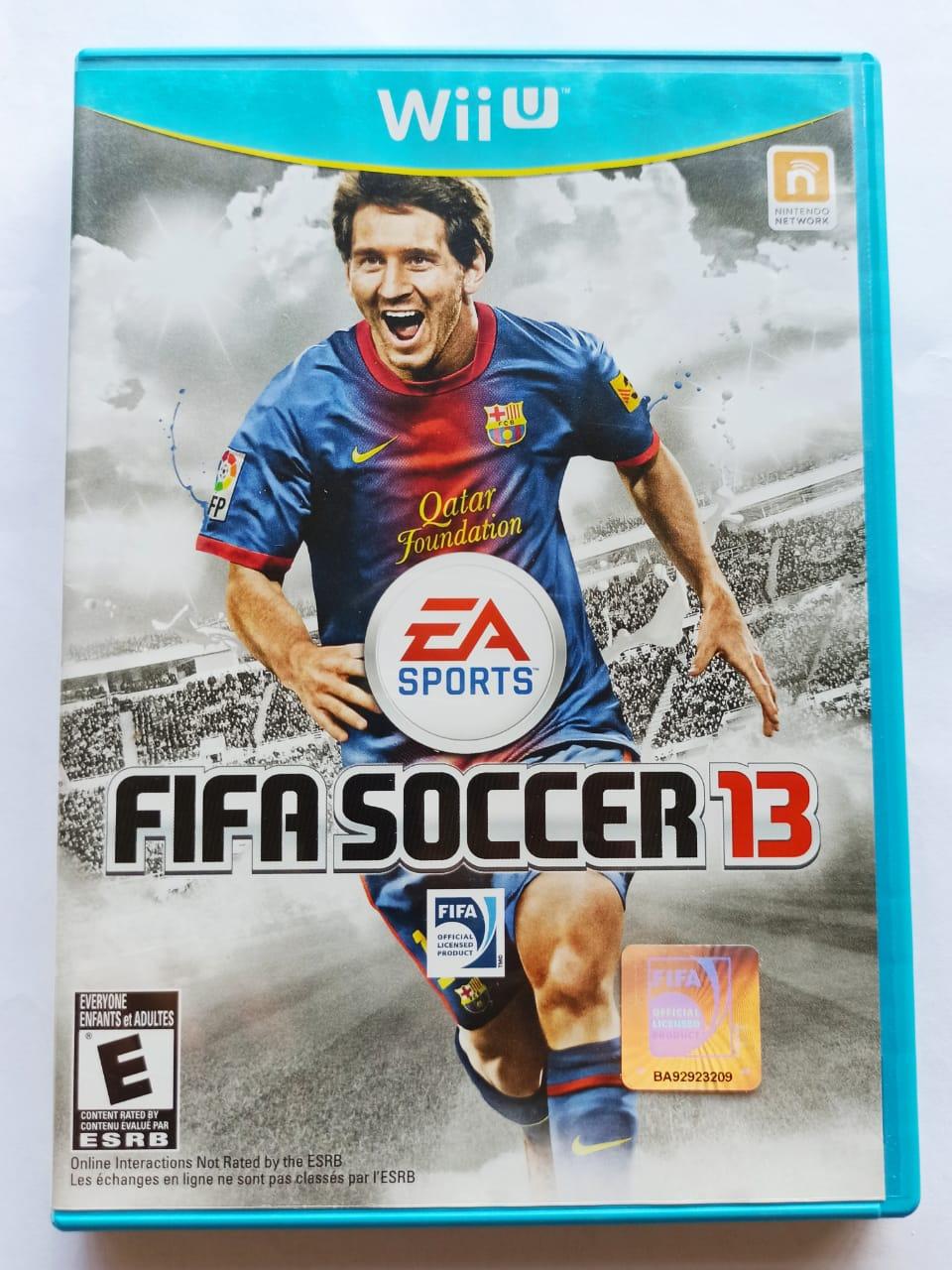 FIFA Soccer 2013 - USADO - Nintendo Wii U