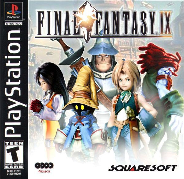 Final Fantasy IX - PsOne