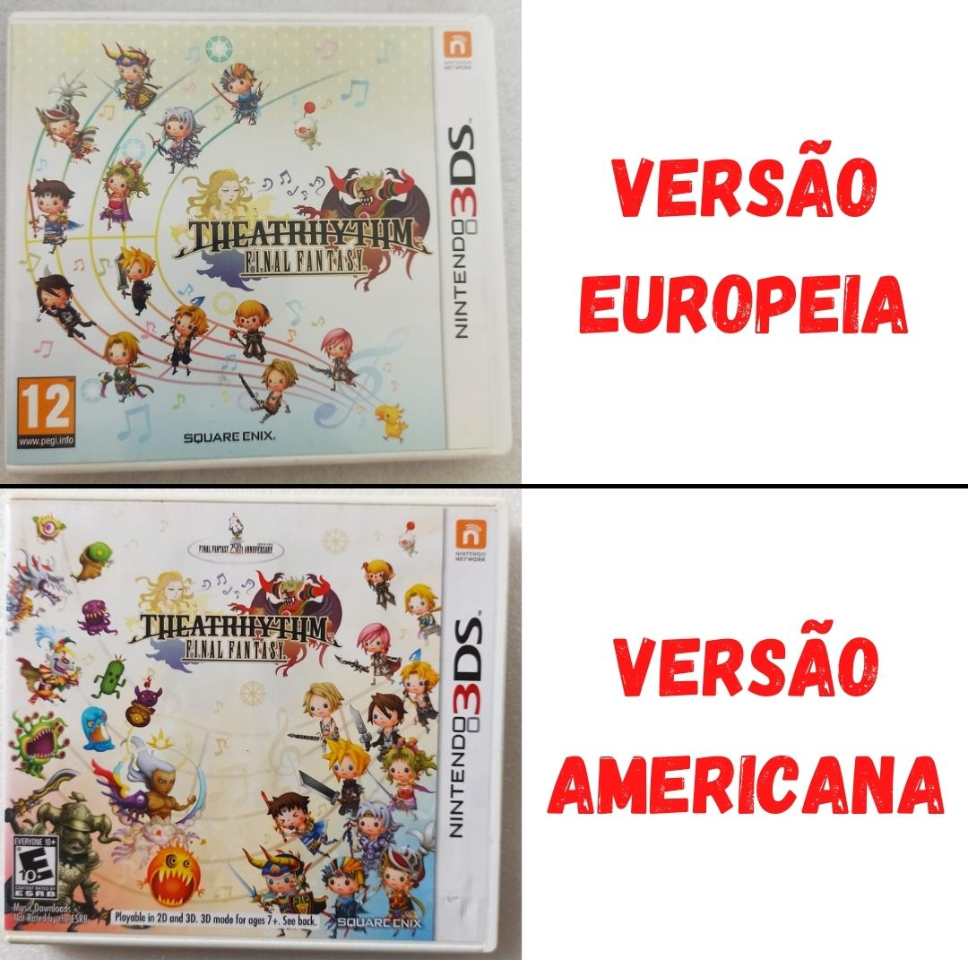 Final Fantasy Theatrhythm - USADO - Nintendo 3DS