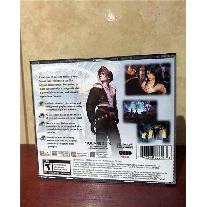 Final Fantasy VIII - PsOne - USADO