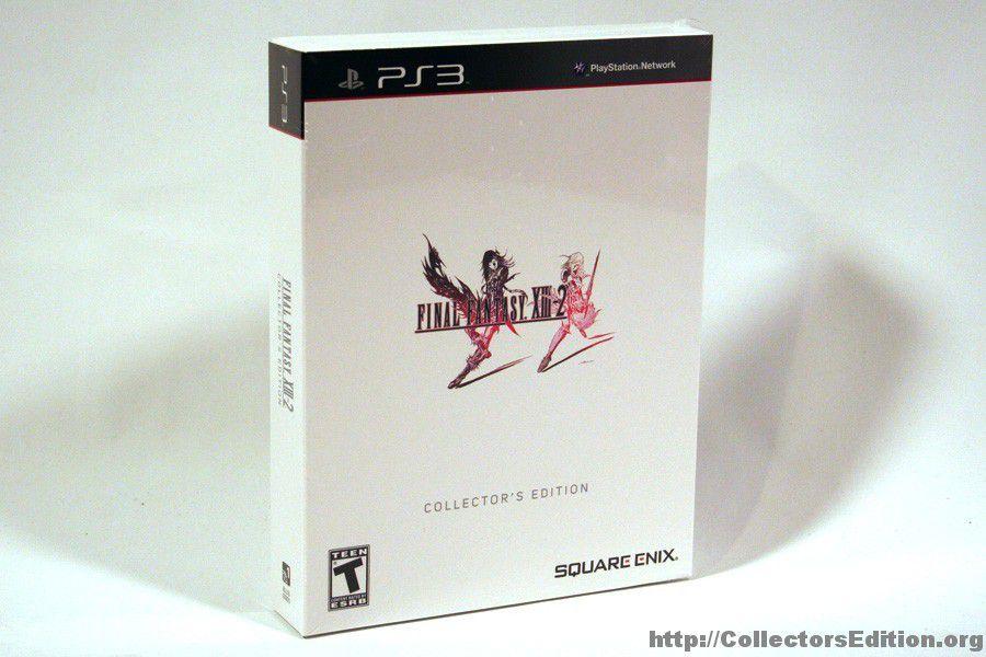 Final Fantasy Xiii 2 Collector's Edition - PS3  USADO