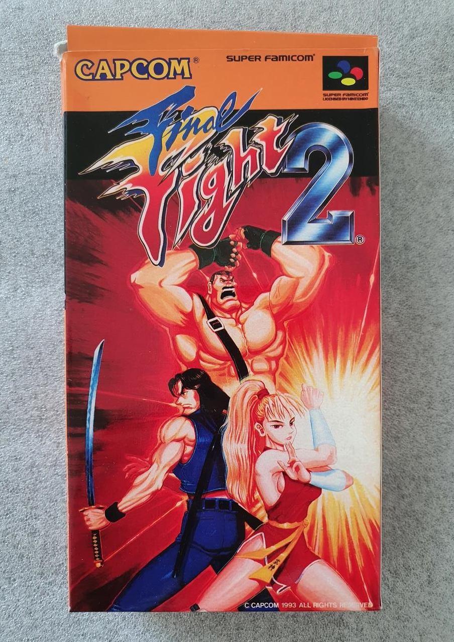 Final Fight 2 - JP - Super Famicon - Usado