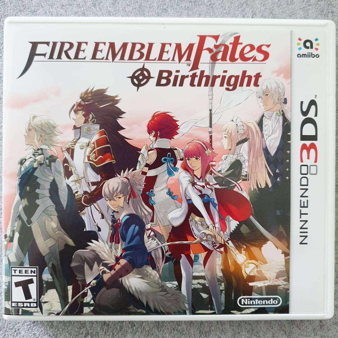 Fire Emblem Fates: Birthrith - USADO - Nintendo 3DS