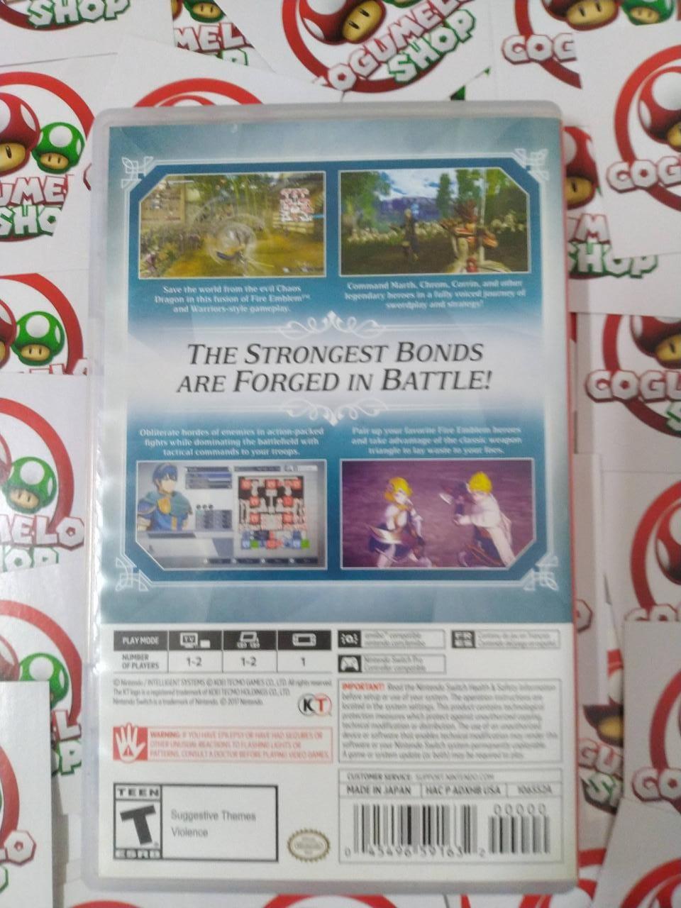 Fire Emblem Warriors - USADO - Nintendo Switch
