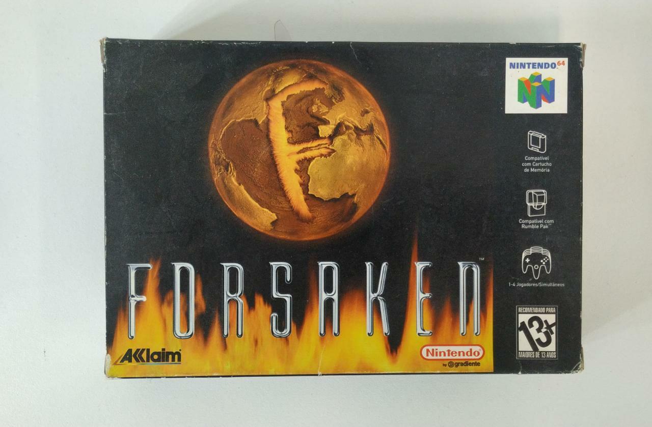 FORSAKEN - Nintendo 64 - Usado