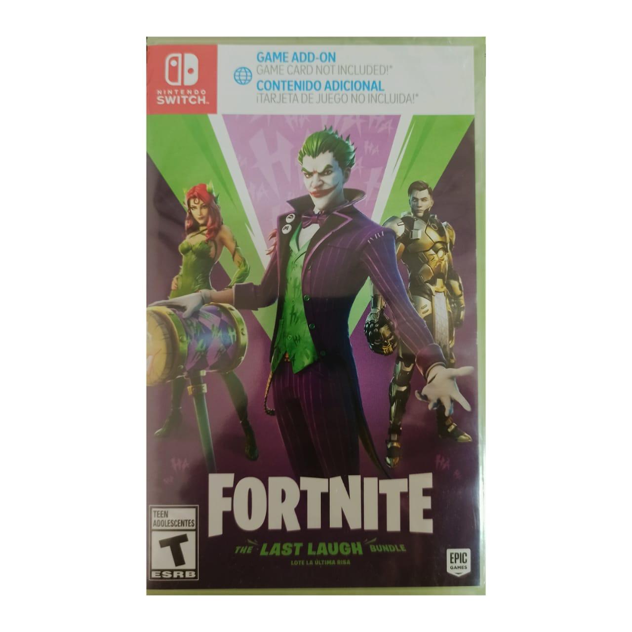 Fortnite Mídia Digital - Nintendo Switch