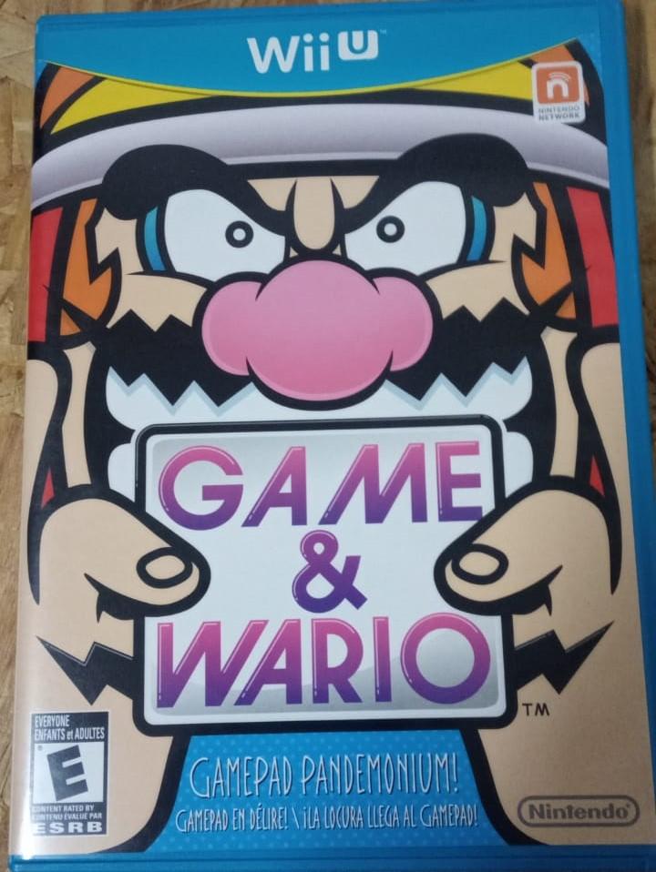 Game & Wario - USADO - Nintendo Wii U