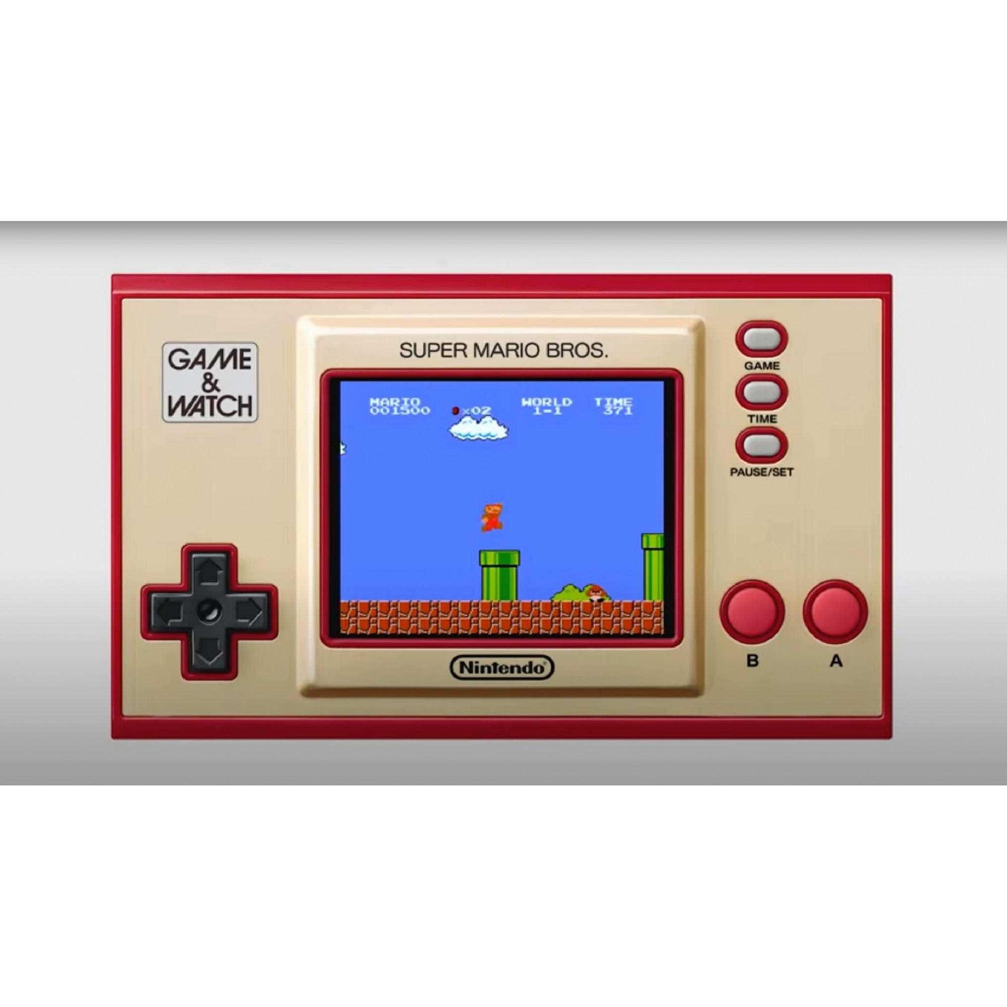 Game & Watch Super Mario Bros - Nintendo - Edição Especial e Limitada