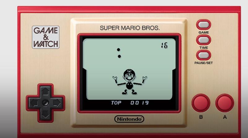 Game & Watch Super Mario Bros - Nintendo - Edição Especial e Limitada