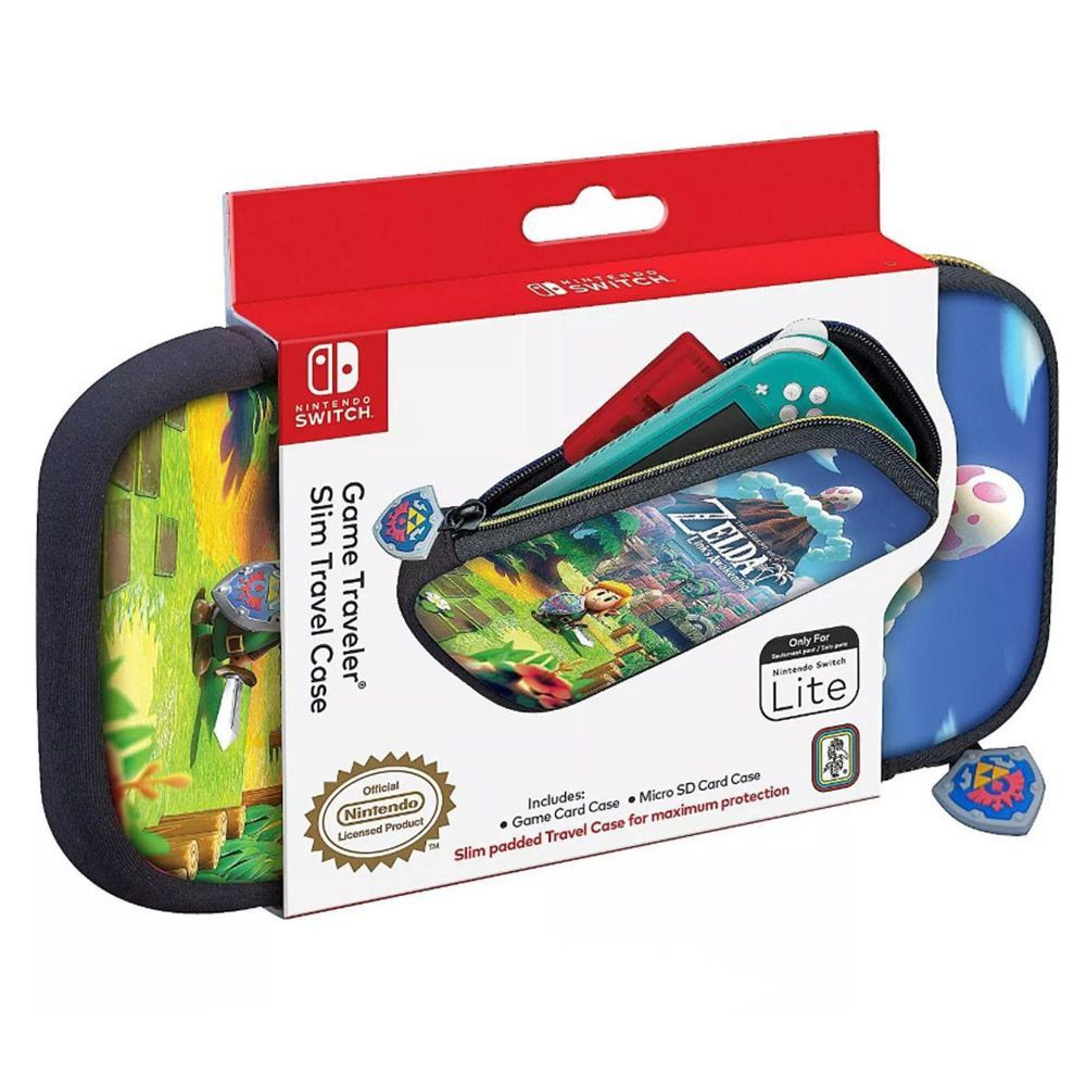 Game Traveler Slim Travel Case Zelda Link's Awakening - Nintendo Switch Lite