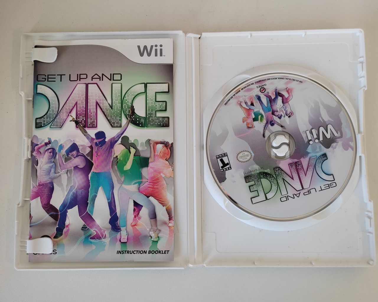 Get Up and Dance - Nintendo Wii - Usado