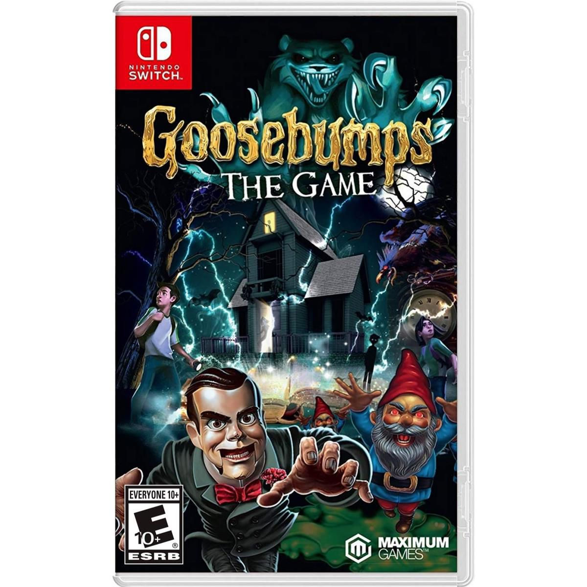 Goosebumps The Game - Nintendo Switch