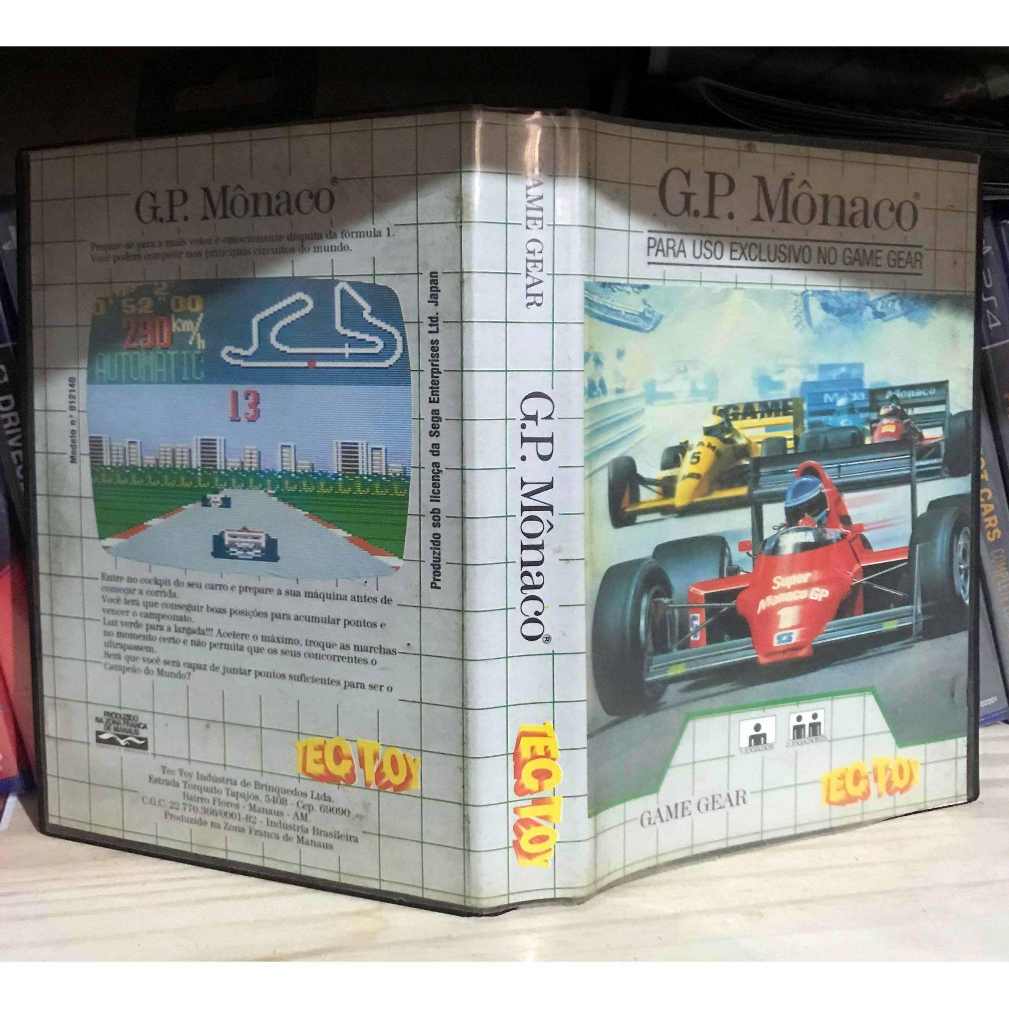 GP Monaco - Game Gear - USADO