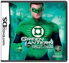 Green Lantern Rise Of The Manhunters (USADO) - Nintendo DS