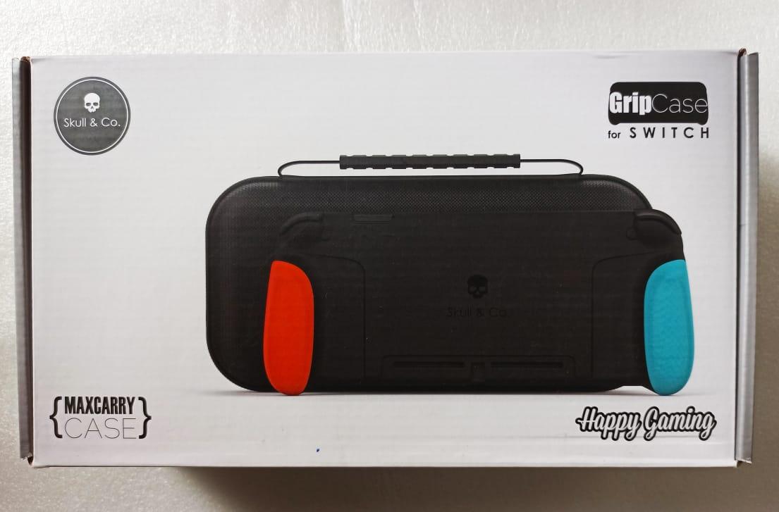 Gripcase Maxcarry Skull & Co. - USADO - Nintendo Switch