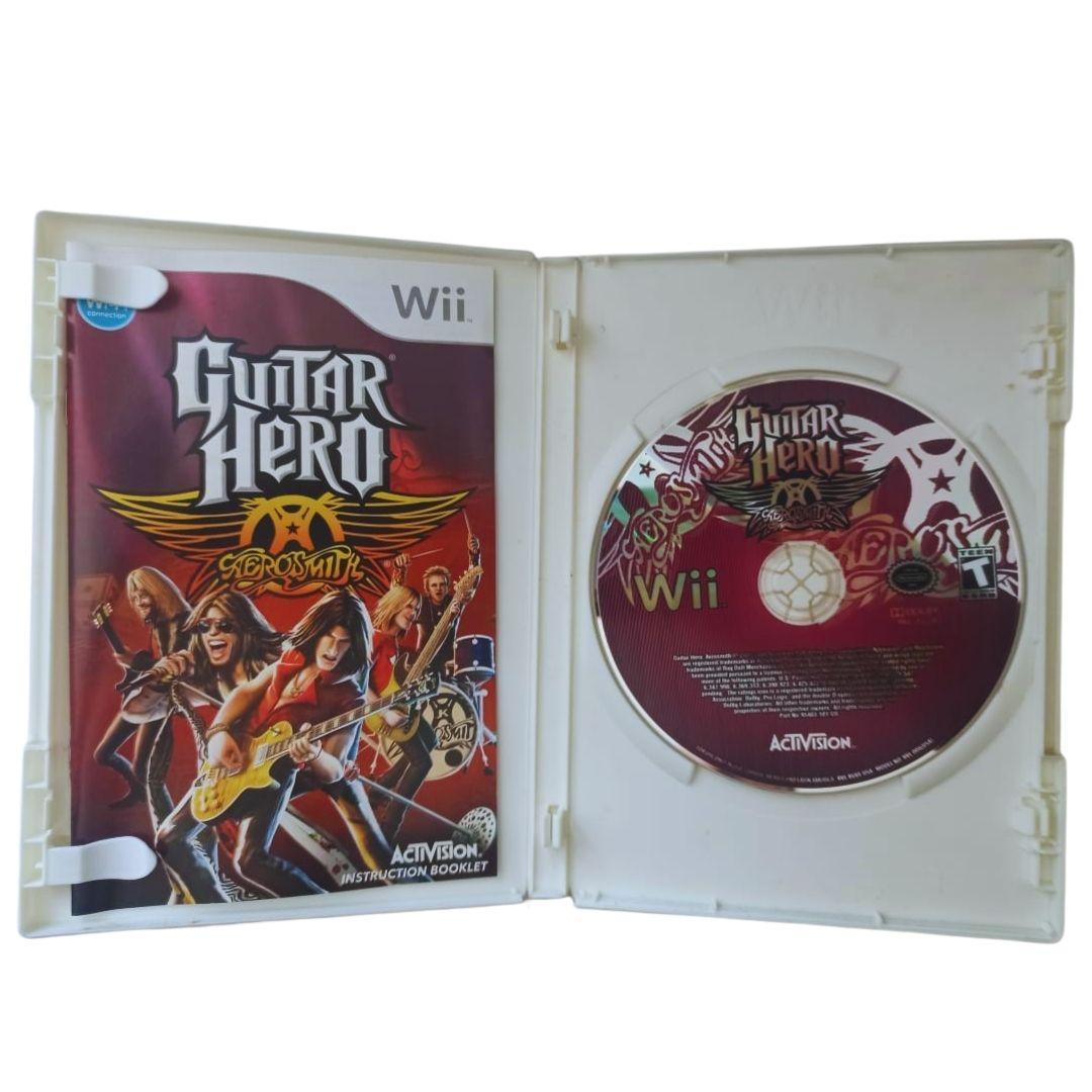Guitar Hero: Aerosmith - Nintendo Wii - Usado