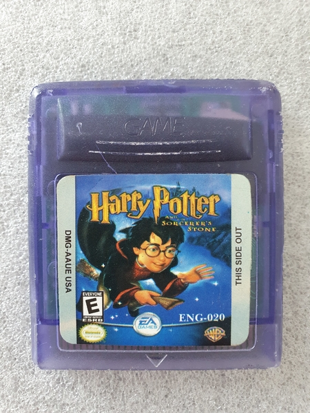 Harry Potter and the Sorcerer's Stone (Paralelo) - Cartucho - Game Boy Color - Usado