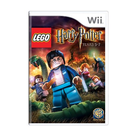 Harry Potter LEGO YEARS 5-7 - USADO - Nintendo Wii