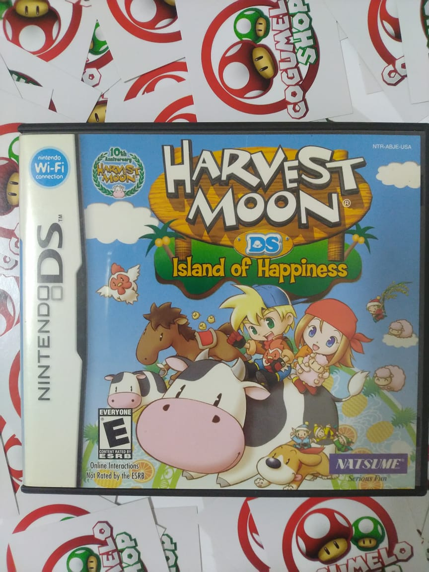 Harvest Moon: Island Of Happiness - USADO - Nintendo DS