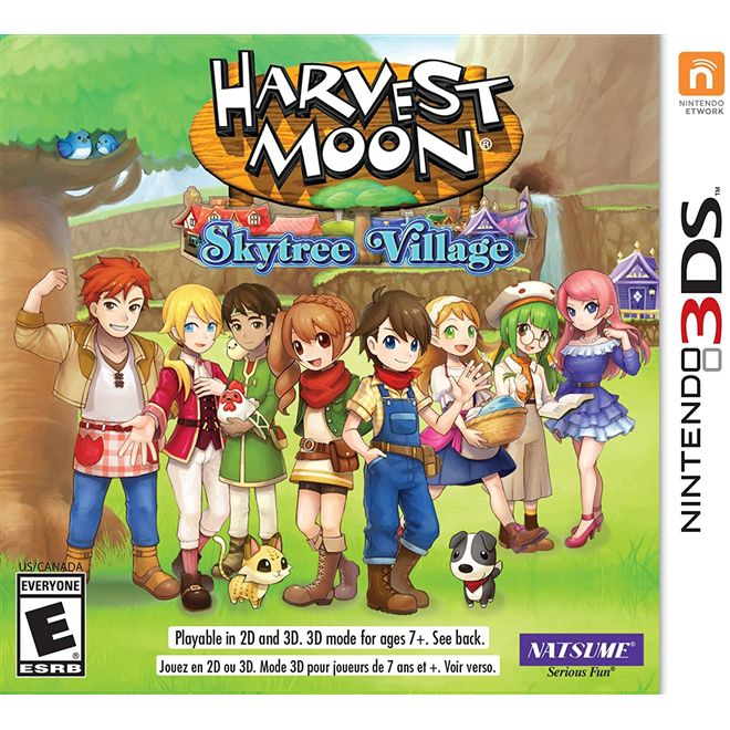 Harvest Moon Skytree Village - 3DS