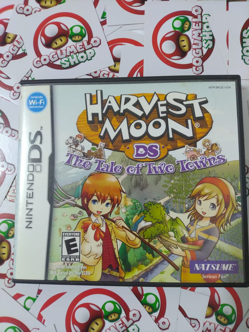 Harvest Moon: The Tale Of Two Towns - USADO - Nintendo DS