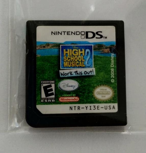 High School Musical 2: Work This Out  - Cartucho - Nintendo DS - Usado