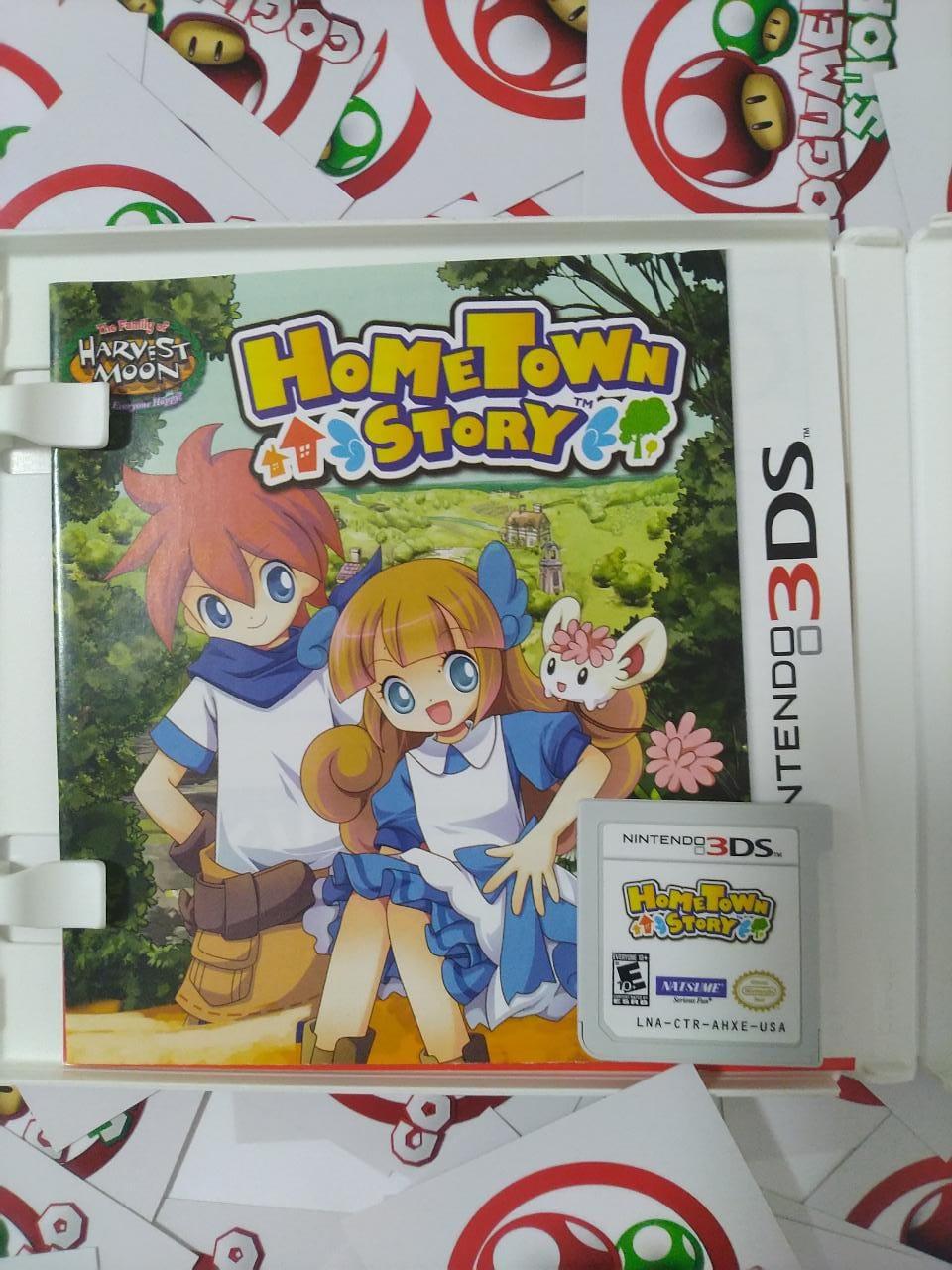 HomeTown Story - USADO - Nintendo 3DS