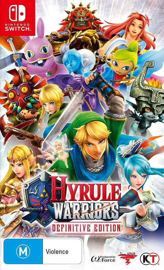 Hyrule Warriors: Definitive Edition - Envio Internacional