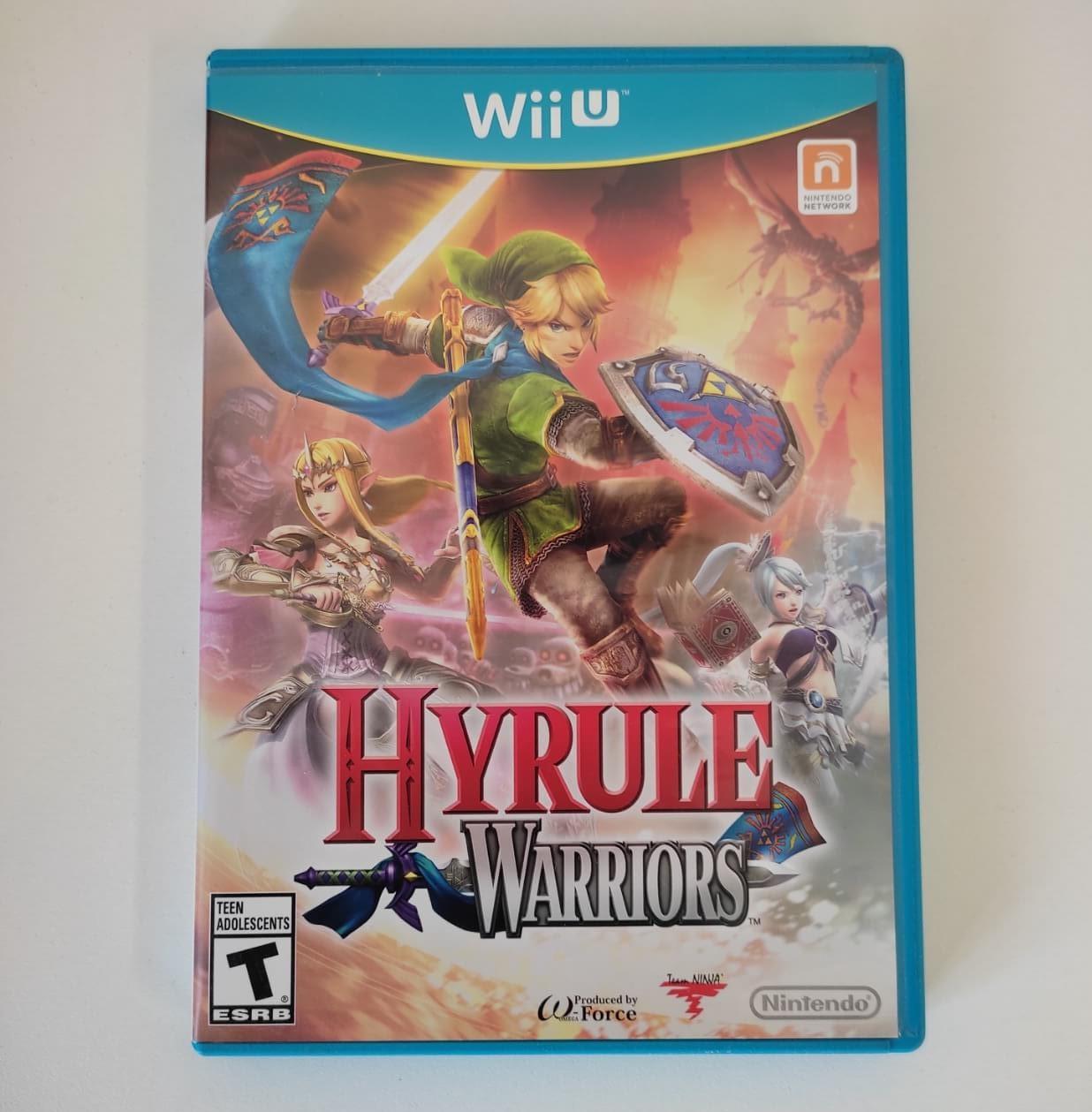 Hyrule Warriors - Nintendo Wii U - Usado