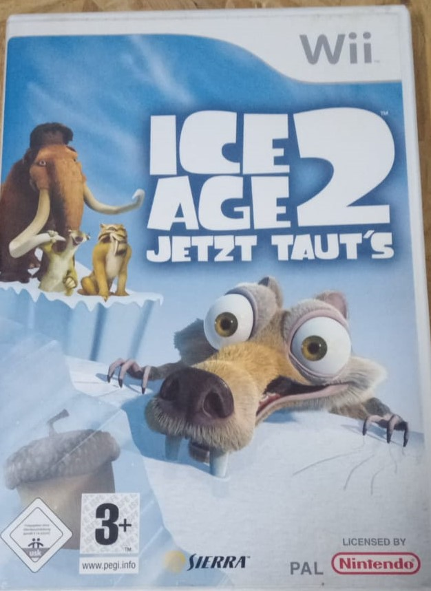 Ice Age 2: The Meltdown - USADO - Nintendo Wii