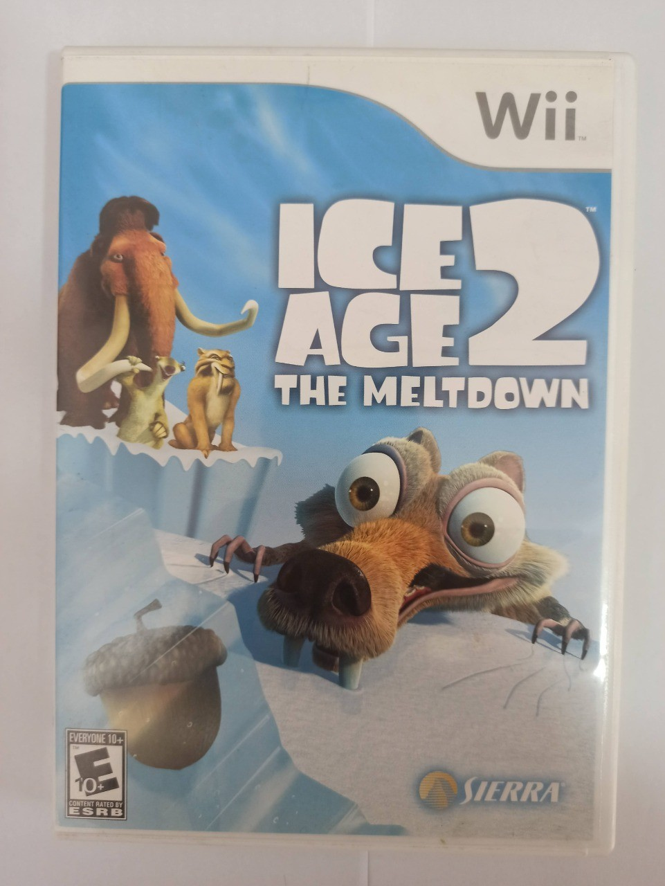 Ice Age 2: The Meltdown - Usado - Nintendo Wii
